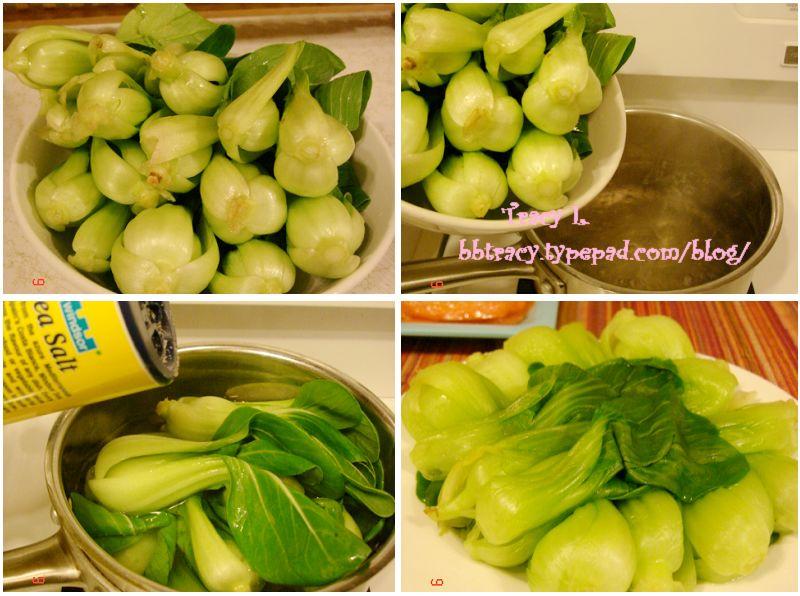 清煮小油菜