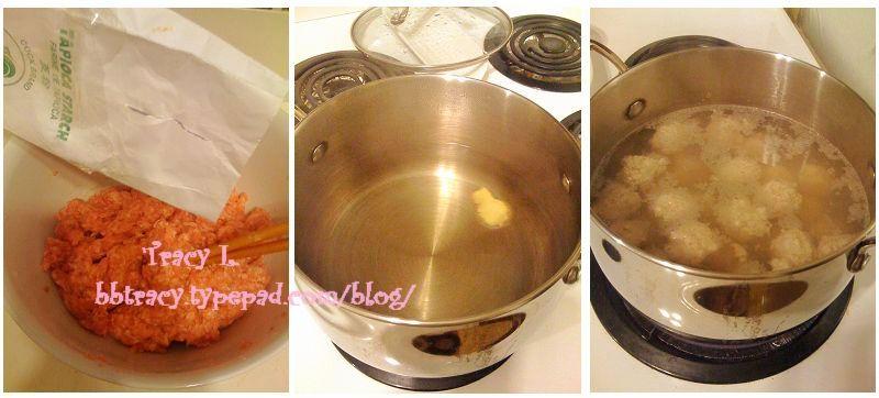 油菜丸子汤3