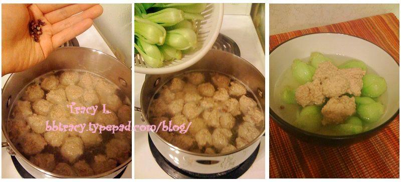 油菜丸子汤4